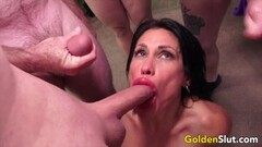 Sexy Mature Blowbang Compilation Part 2 Thumb