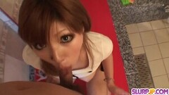 Young Mariko spreads wide for a boner Thumb