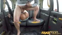 Fake Taxi Big tits petite hot ebony babe Alyssa Divine Thumb