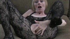 Naughty Granny In Fishnets Getting Plowed Hard Thumb