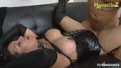 Naughty Busty Latina Cougar Cheating On Home Video Thumb