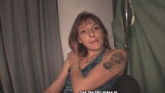 Frisky Skinny Crack Whore Fucked with Small Tits Thumb