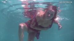 Naughty Redhead Baby Nikita Vodorezova Gets Naked Underwater Thumb