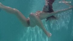 Frisky Sexy Underwater Redhead Nikita Vodorezova Thumb