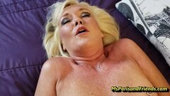 Kinky HOT Stepmom Loves Her Pussy and Ass Fucked Thumb