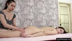 Kinky Brunette Massages Tight Brunette Teen Nataha Normalek Thumb