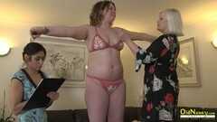 Kinky Lacey Starr Having Lesbian Threesome Thumb
