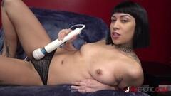 Naughty Tattooed Cutie Selena Savage Masturbates in Her Panties Thumb