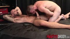 Hunky Brian Bonds Spanked And Fucked By Bald Hunk Thumb