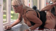 German mature big tits secretary business milf fuck Thumb