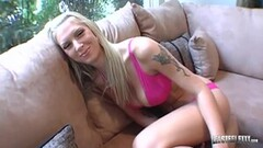 Horny Blondie Brooke Banner Pounded By Lex Steele Thumb