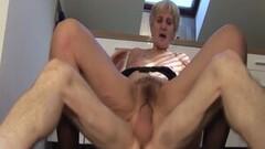 Big cum load shoots in grandmas eye Thumb