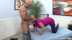 Do The Wife - Married MILFs Blowjob Cumpilation Thumb