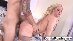 Hard fucking with Dahlia Thumb