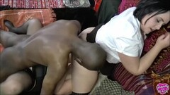 Cute Lacey Gives Housemaid A Treat Thumb